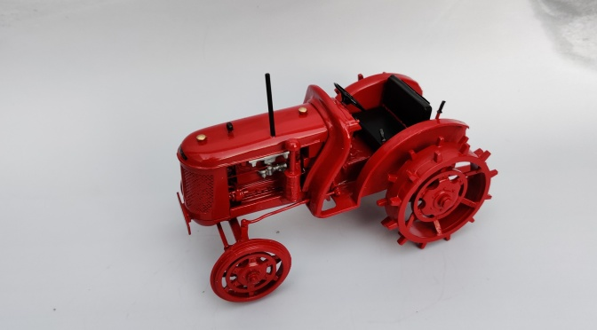 1/16 scale David Brown VAK1A on steel wheels